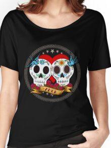 Love Skulls Women's Relaxed Fit T-Shirt