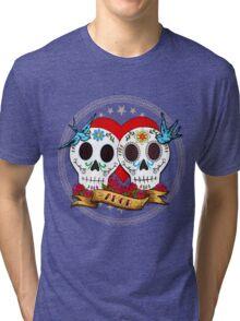 Love Skulls Tri-blend T-Shirt