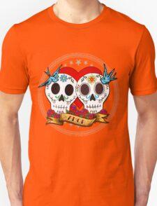 Love Skulls Unisex T-Shirt