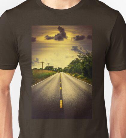 Louisiana Highway 82, an ample opportunity to see gators crossing the road Unisex T-Shirt