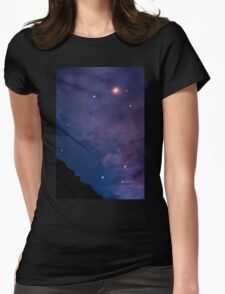 Big Bend nights Womens Fitted T-Shirt