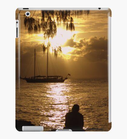 Sail Boats and Fishing Lines iPad Case/Skin