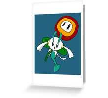 Fire Floette Greeting Card