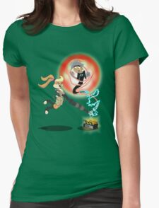 Slam Dunk Ghost Buster Womens Fitted T-Shirt