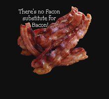No Facon Bacon! Men's Baseball ¾ T-Shirt