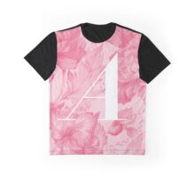 'A' Letter, Vintage Literary Print Graphic T-Shirt