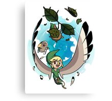 The Masks of Wind Waker Canvas Print