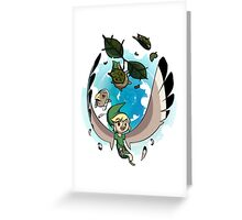 The Masks of Wind Waker Greeting Card