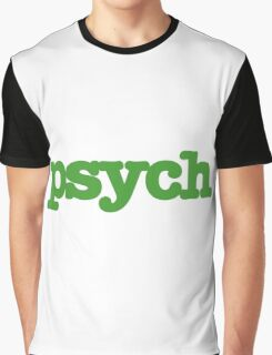 Psych Graphic T-Shirt