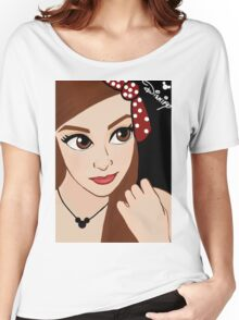 Red Bow Women's Relaxed Fit T-Shirt