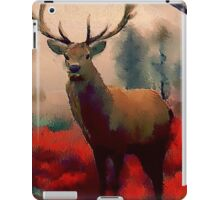 Red Stag in the Forest iPad Case/Skin
