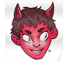 Devil Head Poster