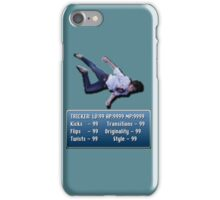 Tricking Stats - Pixel Dude version iPhone Case/Skin