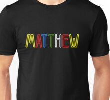Matthew - Your Personalised Products Unisex T-Shirt