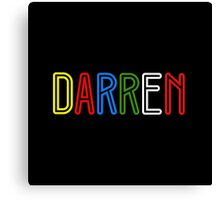 Darren - Your Personalised Products Canvas Print
