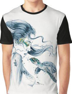 Sea Turtle Totem Graphic T-Shirt