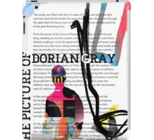 The Picture of Dorian Gray PSTR collage iPad Case/Skin