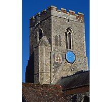 Medieval Church Tower, Kedington Photographic Print