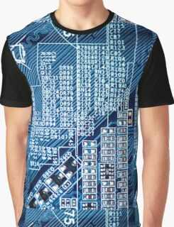 Circuit board Graphic T-Shirt