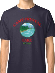 Camp Crystal Lake - Friday The 13th Classic T-Shirt