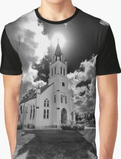 Painted Churches of Schulenburg, Texas Graphic T-Shirt