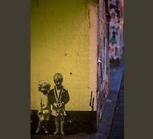 Seattle, Post Alley mural wall art Unisex T-Shirt