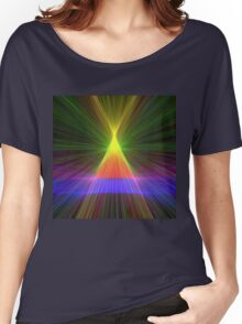 Linify Linify Light Tower, Pyramid Women's Relaxed Fit T-Shirt