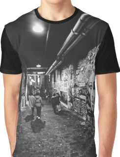 Seattle, Post Alley murals Graphic T-Shirt