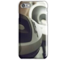 """headphones"" iPhone Case/Skin"