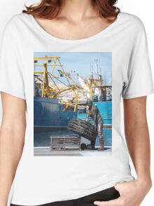 Fremantle Fishing Harbour Women's Relaxed Fit T-Shirt