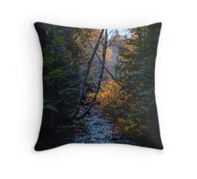 Dank forest Throw Pillow