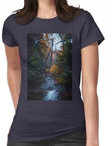 Dank forest Womens Fitted T-Shirt