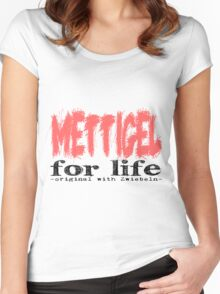 Mettigel for Life Women's Fitted Scoop T-Shirt