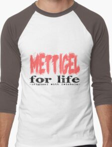 Mettigel for Life Men's Baseball ¾ T-Shirt