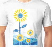 Sunflower Fields Unisex T-Shirt