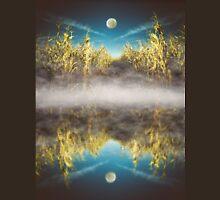 Moon Over Cornfield Unisex T-Shirt