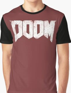 New DOOM logo game HQ Graphic T-Shirt