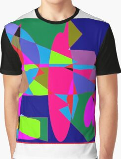 color abstract scribble background Graphic T-Shirt