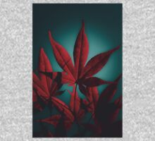 Japanese Maple in Crimson Kids Tee