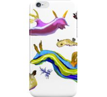 Slugs, slug, everywhere sea slugs iPhone Case/Skin