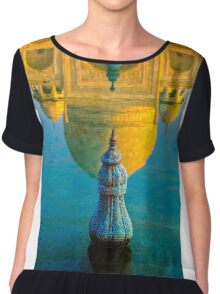 Reflected Taj Mahal Chiffon Top