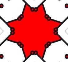 technology line connection microchip datentechnik electronics cool design robot cyborg pattern star cross x Sticker