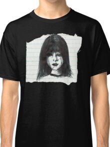DARK MOOD ON TORN PAPER Classic T-Shirt