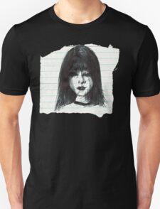 DARK MOOD ON TORN PAPER Unisex T-Shirt