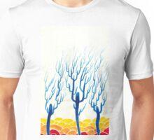Trees Reaching from Rolling Desert Unisex T-Shirt