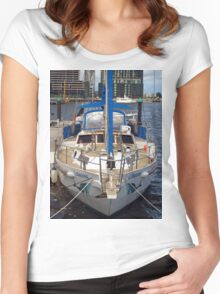 Face on in Melbourne Women's Fitted Scoop T-Shirt