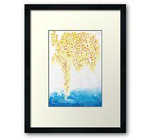Autumn Willow  Framed Print