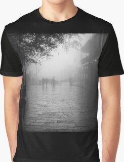 New Orleans in B&W Graphic T-Shirt