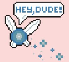 """Hey, Dude!"" Navi Baby Tee"