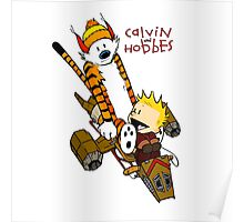 Calvin and Hobbes : Superjet Poster